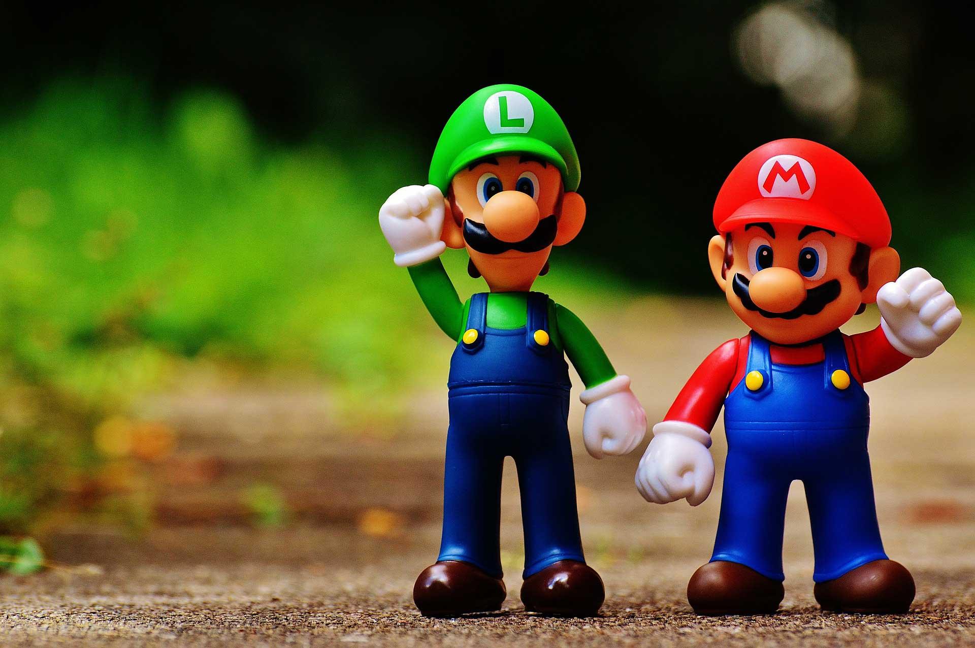 Mario Oyun Karekterleri Figurleri